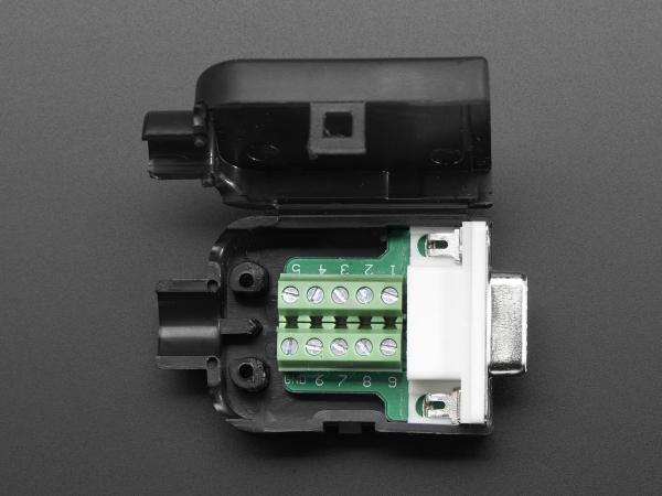 Mufa Mama DB9 - Conectori cu surub 0