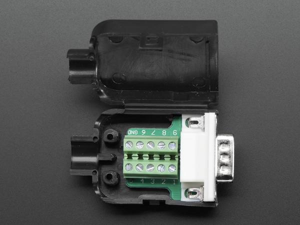 Mufa Tata DB9 - Conectori cu surub [0]