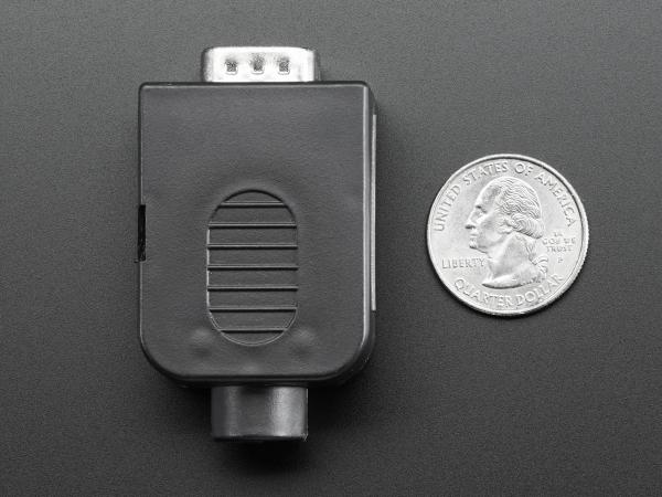 Mufa Tata DB9 - Conectori cu surub [4]