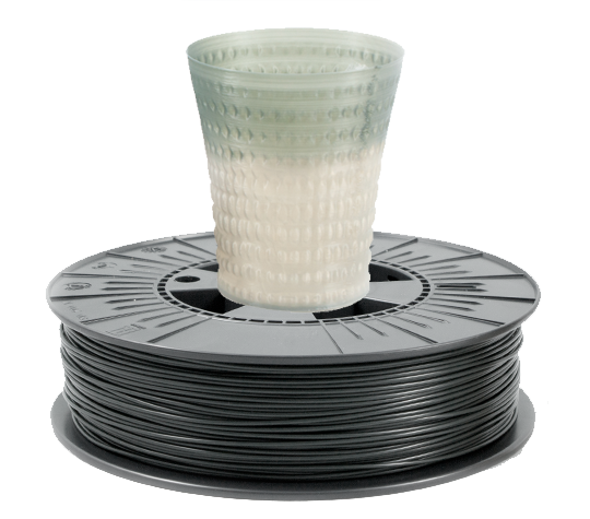Filament TPLA - 1.75 mm / Thermochrom(Gri Inchis) 500g 0