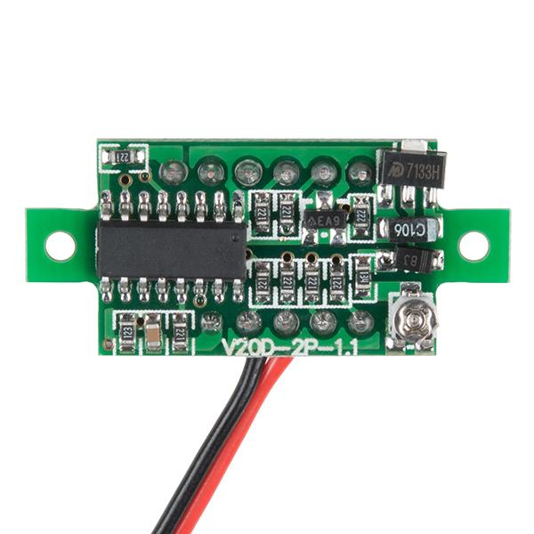 Afisaj voltmetru LED 1