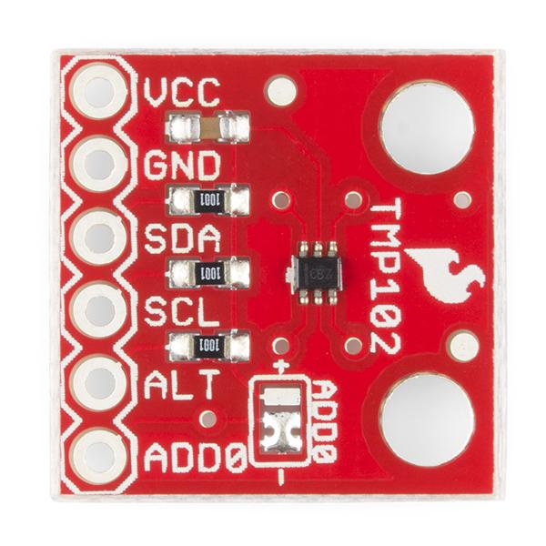 Senzor de temperatura - TMP102 0