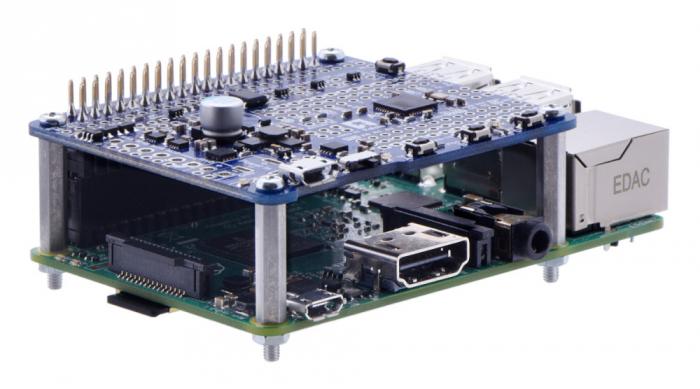 Distantiere din aluminiu pentru Raspberry Pi 18.6mm x 6mm M2.5 - 4 buc [0]
