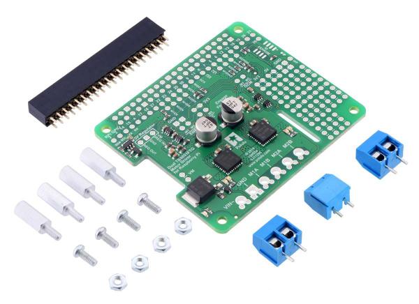 Driver motor dublu TB9051FTG pentru Raspberry Pi (kit partial) 0