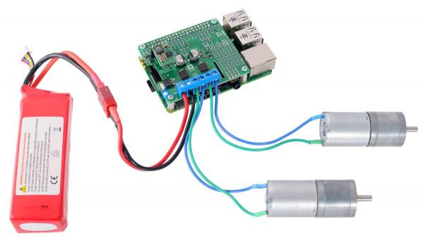 Driver motor dublu TB9051FTG pentru Raspberry Pi (kit partial) 4