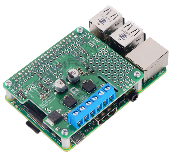 Driver motor dublu TB9051FTG pentru Raspberry Pi (kit partial) 3