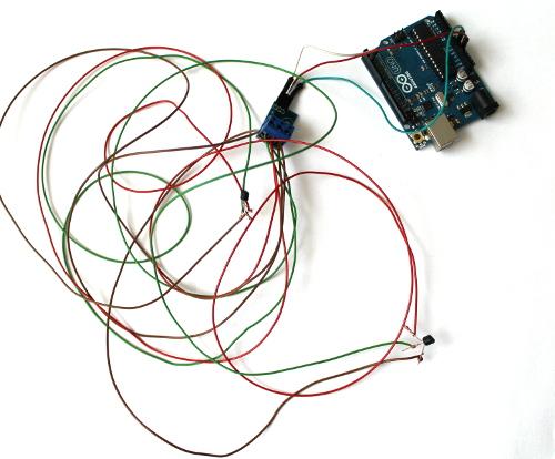 Senzor Temperatura Inlantuibil Brick (DS18B20) - Motherboard 2