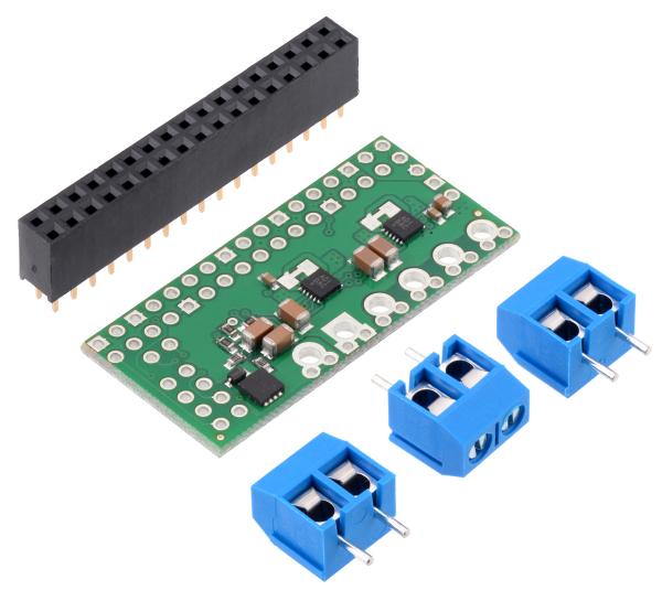 Dual MAX14870 Motor Driver pentru Raspberry Pi (Partial Kit) 0