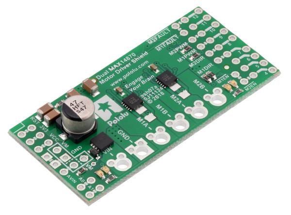 Dual MAX14870 Motor Driver Shield pentru Arduino 1