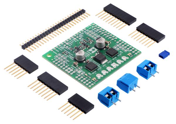 Shield dublu-canal TB9051FTG driver motor pentru Arduino 1