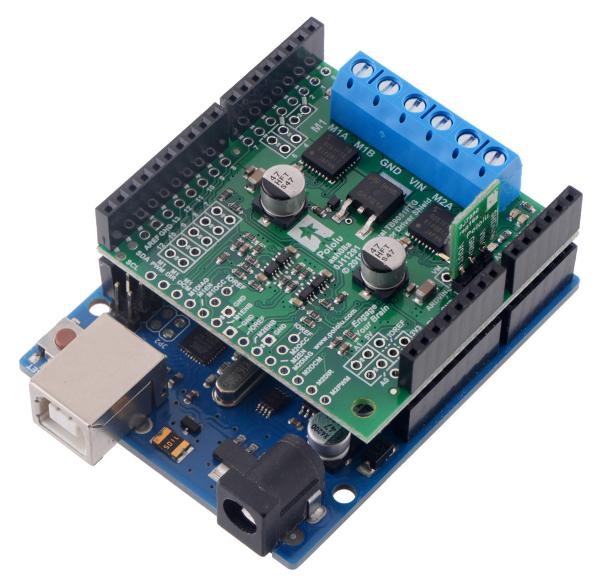 Shield dublu-canal TB9051FTG driver motor pentru Arduino 3