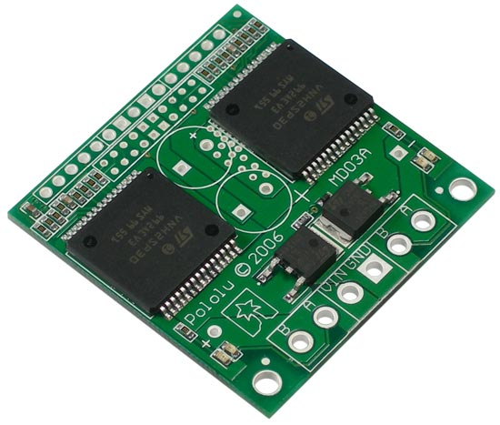 Dual VNH3SP30 Motor Driver Carrier MD03A 0
