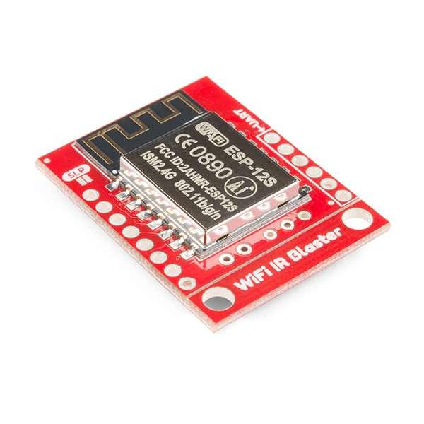 Emulator IR WiFi SparkFun cu ESP8266 3