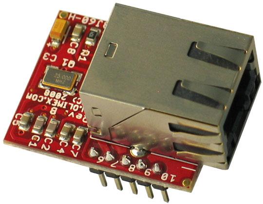 Placa Retea ENC28J60-H Arduino 1