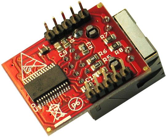 Placa Retea ENC28J60-H Arduino 2