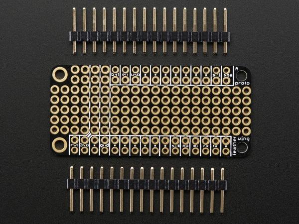 FeatherWing Proto - Placa prototipare pentru placile Feather 0