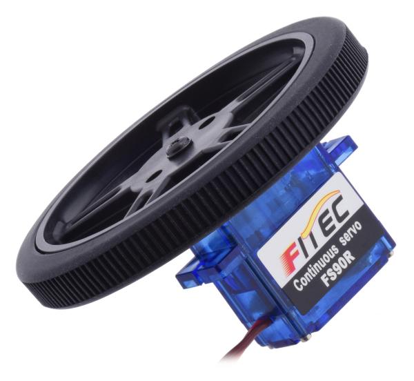 FEETECH FT90R Digital Servo Micro Rotatie Continua 4