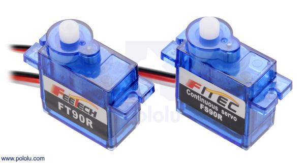 FEETECH FT90R Digital Servo Micro Rotatie Continua 1