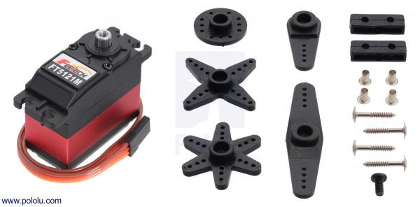 FEETECH High-Torque, High-Voltage Digital Servo FT5121M 1