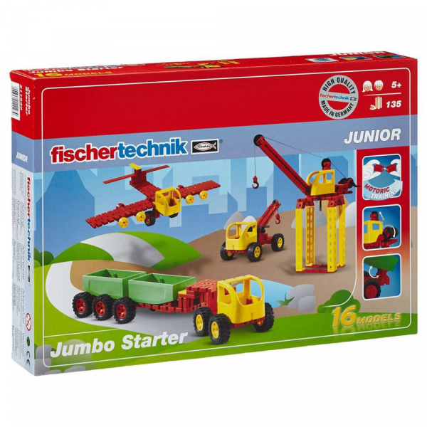 RETRAS - FISHER TEHNIC - JUNIOR Jumbo Starter  511930 0