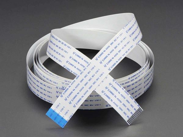Cablu Flexibil pentru Camera de Raspberry Pi - 2 metri 1
