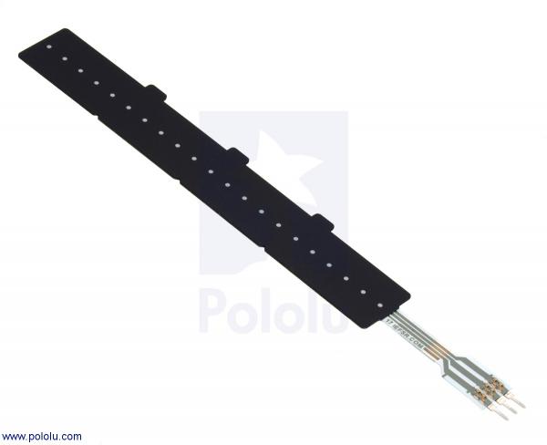 Potentiometru liniar sensibil la forta: 10.41cm x 1.44cm Lungime variabila 0