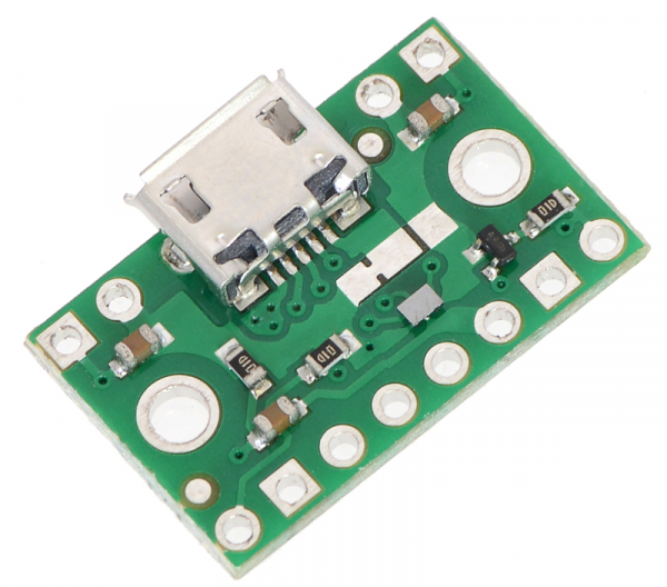 FPF1320 Power Multiplexer cu Micro-B USB 0