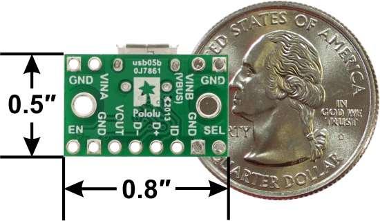 FPF1320 Power Multiplexer cu Micro-B USB 1