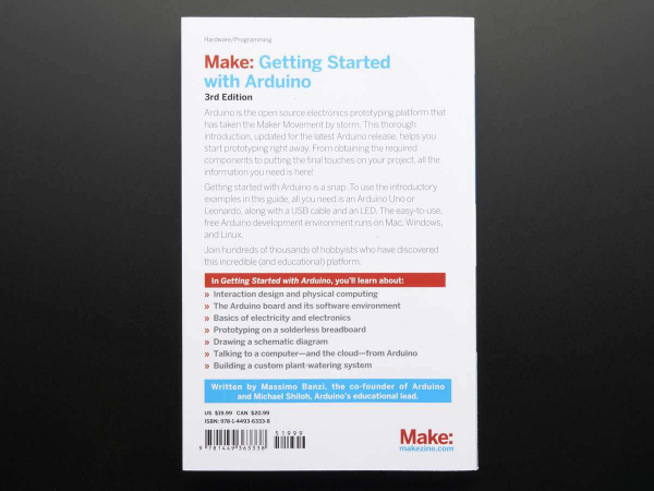 Getting Started with Arduino By Massimo Banzi - 3rd Edition 1