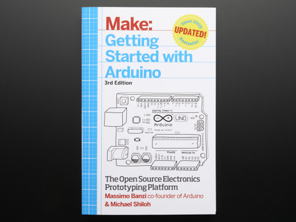Getting Started with Arduino By Massimo Banzi - 3rd Edition 0