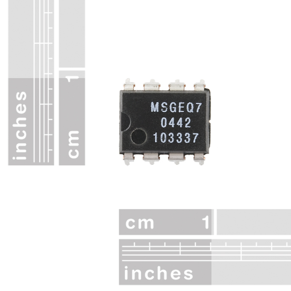 Graphic Equalizer Display Filter - MSGEQ7 1