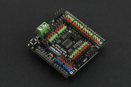 Gravity: GPIO Shield pentru Arduino 0