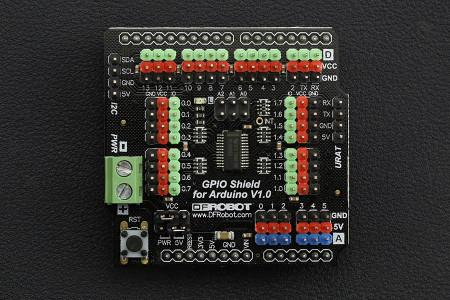 Gravity: GPIO Shield pentru Arduino 1