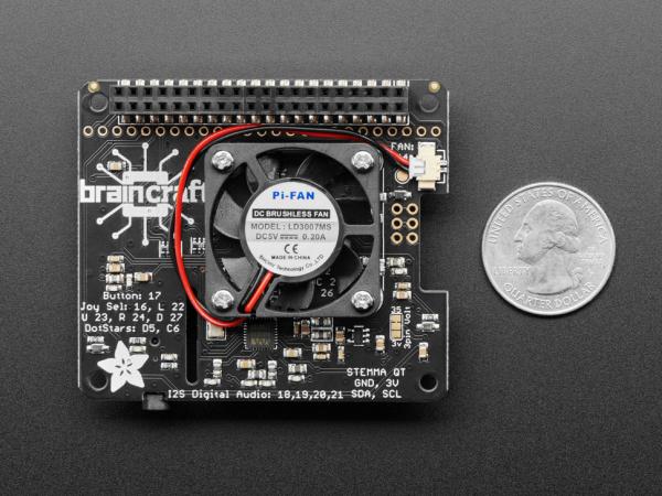 HAT invatare-masina Adafruit BrainCraft HAT pentru Raspberry Pi 4 2