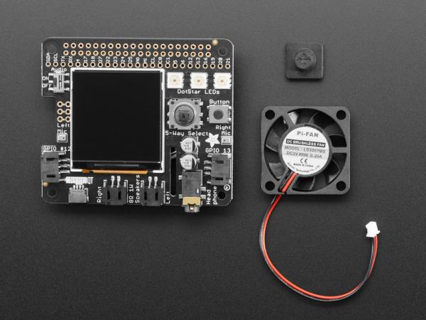 HAT invatare-masina Adafruit BrainCraft HAT pentru Raspberry Pi 4 6