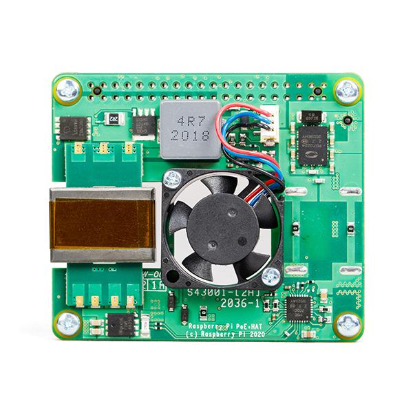 HAT PoE+ pentru Raspberry Pi [1]