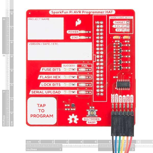HAT programator AVR SparkFun pentru Raspberry Pi 1