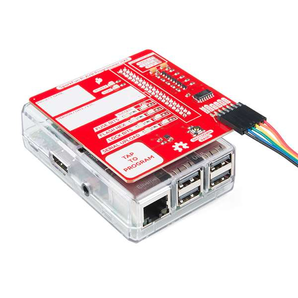 HAT programator AVR SparkFun pentru Raspberry Pi 5