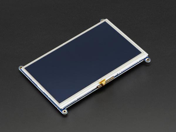 "Display HDMI 7"" 800x480 - Touchscreen 2"