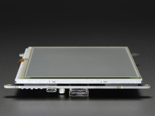 "Display HDMI 7"" 800x480 - Touchscreen 8"