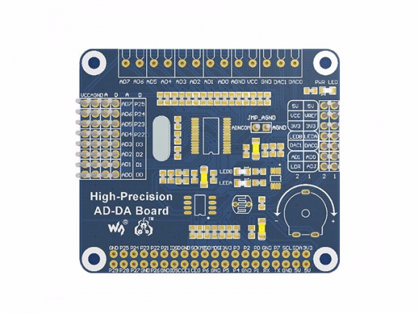 Raspberry Pi ADC si DAC High-Precision 0