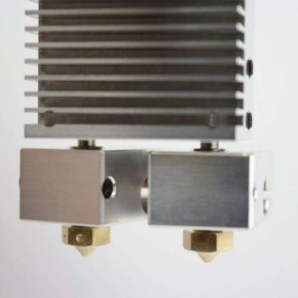 Kit extrudor Dual Chimera Plus cu Hot end si dubla extrudare, racire cu aer, 12V 5