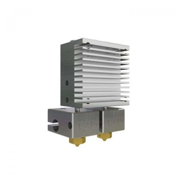 Kit extrudor Dual Chimera Plus cu Hot end si dubla extrudare, racire cu aer, 12V 0