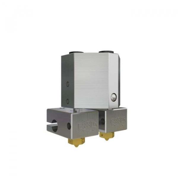 Kit extrudor Dual Chimera Plus cu Hot end si dubla extrudare, racire cu aer, 12V 3