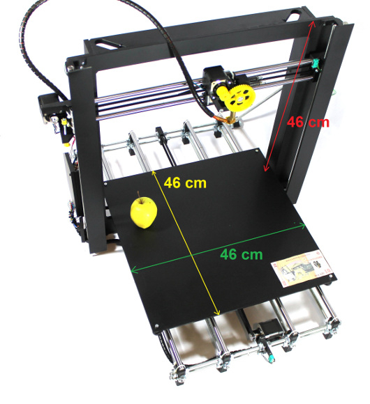 Imprimanta 3D Robofun 40-40-40, complet asamblata 1
