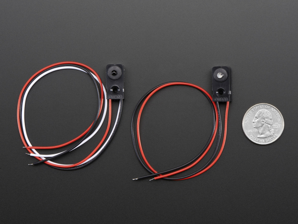 Senzor bariera infrarosu - LED 3mm 3