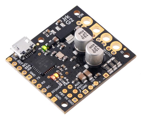 Controlor de motor USB Jrk G2 18v19 cu feedback 0