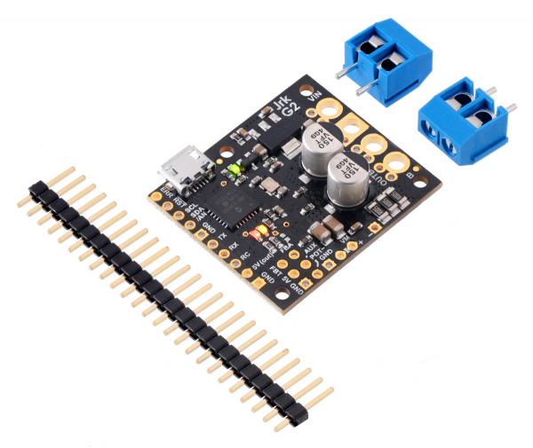 Controlor de motor USB Jrk G2 18v19 cu feedback 3