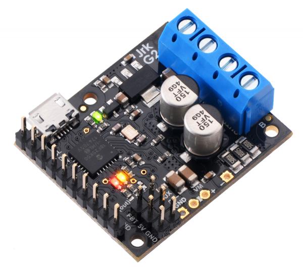 Controlor de motor USB Jrk G2 18v19 cu feedback 5