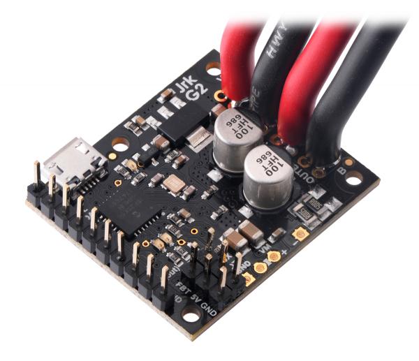 Controlor de motor USB Jrk G2 18v19 cu feedback 7